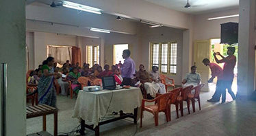 first Facebook's initiative programme at We thank Grama Seva Bhavan, Thirupuram